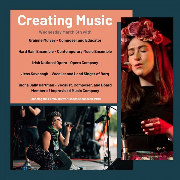 Pitch Perfect! STF Workshop 1: Creating Music - March 6th at IMRO